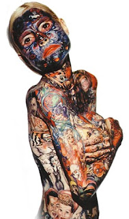 La Mujer Mas Tatuada