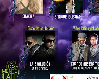 Wisin Y Yandel Ganan categoria Disco Latino Del Año en Premio Orgullosamente Latino