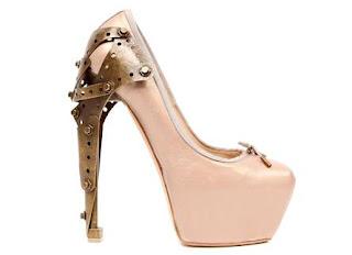 Zapato con taco Hidralico