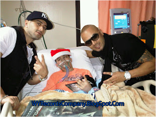 Wisin & Yandel llevan alegria a los niños del Hospital