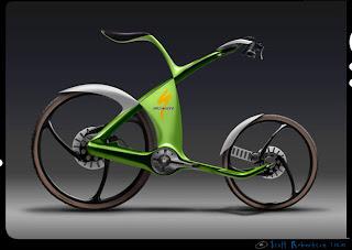Bicicleta Innovadora de BMW