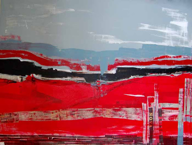 Red ocean. 121x96 SOLD/VENDIDO
