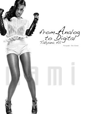 Tatyana Ali In Mami Magazine~