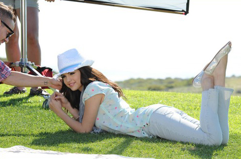 selena gomez dream out loud spring. I think that might be big in Selena's line for spring!