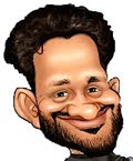 Resul Pookutty Caricatures