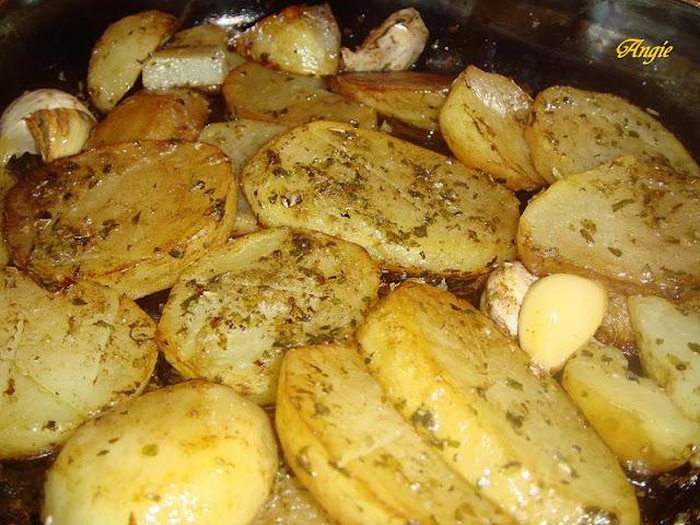 La cocina de angie patatas de guarnici n - Guarniciones para carne en salsa ...