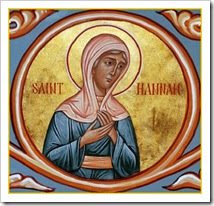 St. Hannah, pray for us!
