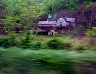 Yes, I know, out of focus. Just liked this old house.