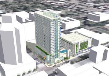 Concept for 8th \u0026 K Hotel Design