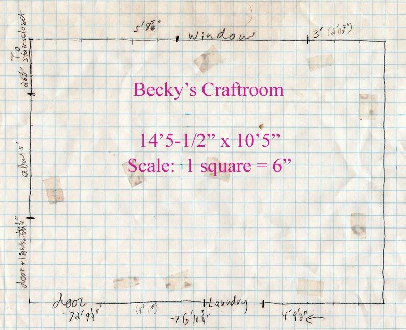 becky s craftroom floor plan