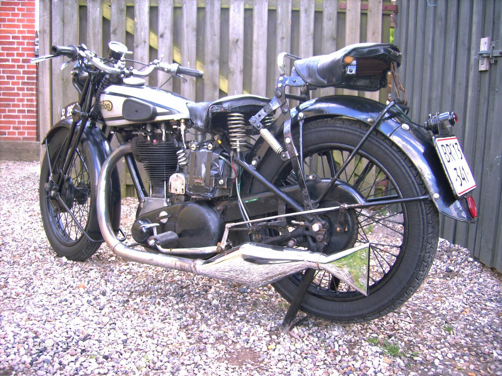 c1932 Model 19 Norton << bike news motorccle