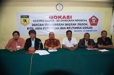Ketua DPD dan DPC GOKASI DKI JAKARTA