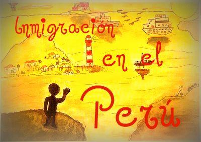 Inmigración en el Perú