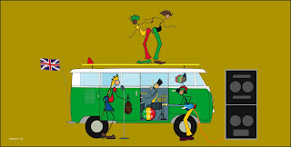 Dready, Dready Art and Everything Dready band+and+the+bus