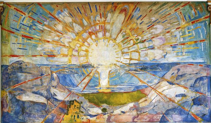 munch the sun