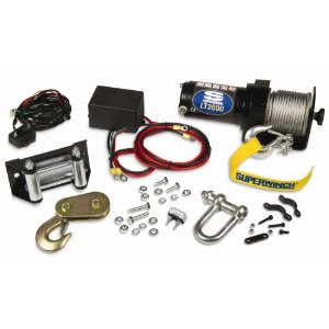Super winch LT2000 with accessories