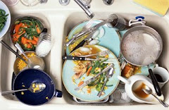 ...and a sink full of dishes!!