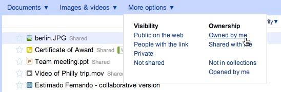 Google Docs = GDrive