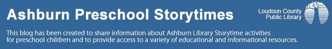 Ashburn Preschool Storytimes