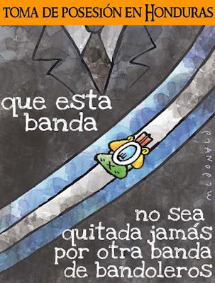 OTRO URUGUAY ES POSIBLE: Honduras: Caricatura - Adam Mc Donald