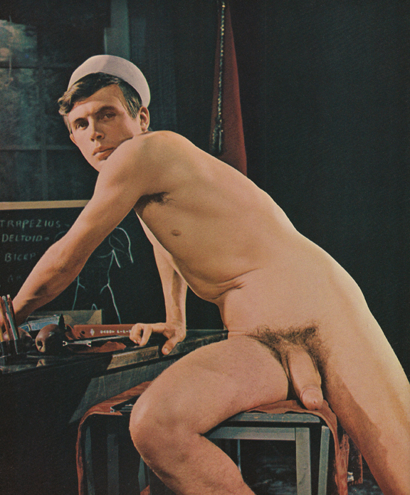 Vintage gay nude men