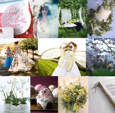 Elven Wedding Dreams theme inspiration
