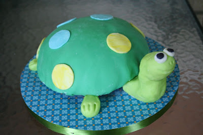 how to make a turtle out of fondant