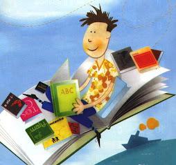 Ler é viajar no mundo do conhecimento