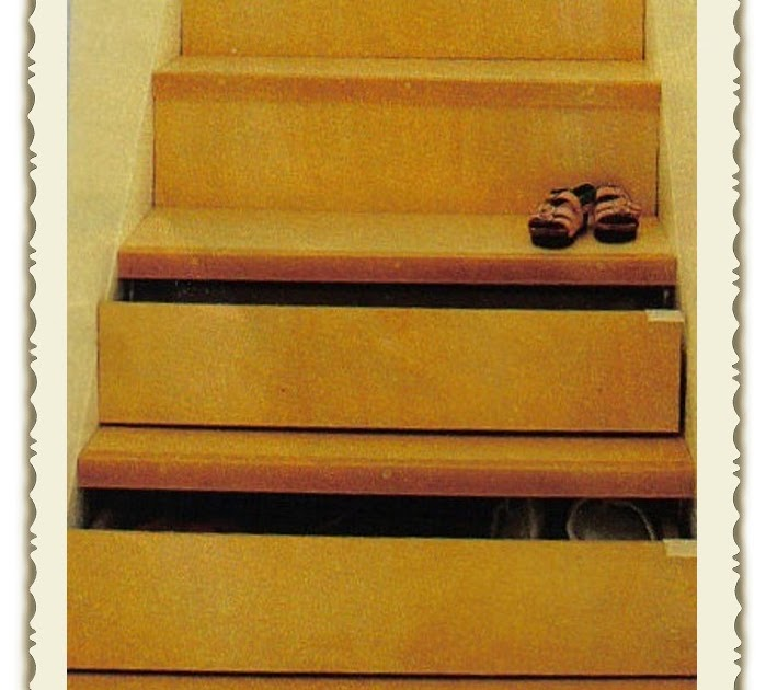 The red chair blog clever storage alert stair drawers for Diy staircase drawers