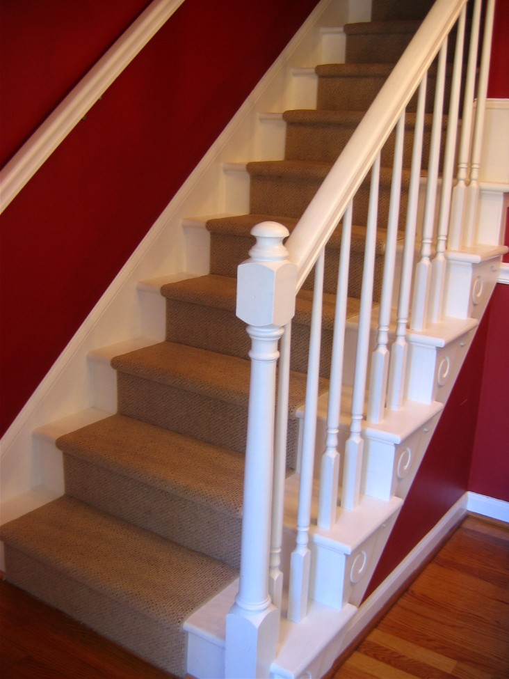 The Red Chair Blog A Diy Staircase Story