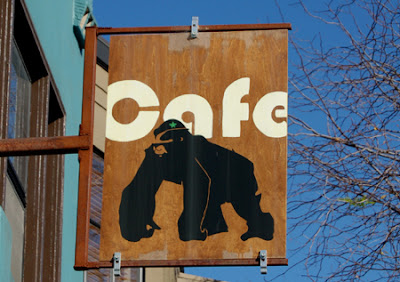 Photo of Gorilla Cafe sign
