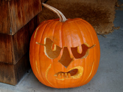 My version of the Dick Cheney Jack-O-Lantern