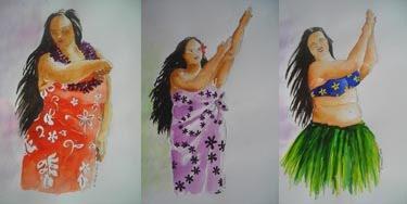 danseuses-vahiné au tamouré