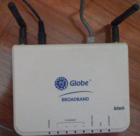 how to setup a bridge mode using AZTECH DSL605EW wifi modem