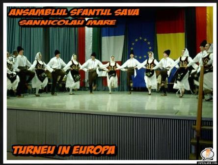 Ansamblul  Sfantul Sava  in Europa