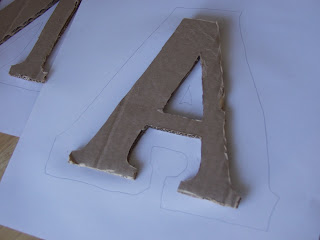 Craft envy cardboard decorative letters so cheap for Cheap 3d cardboard letters