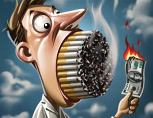 Aumento dos cigarros