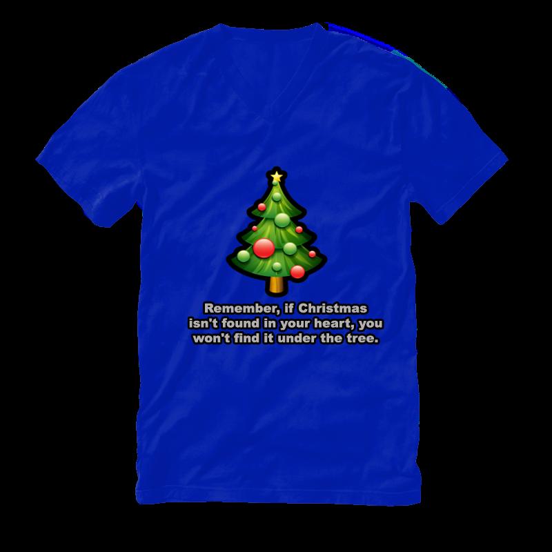 T Shirt Designs Christmas Tree