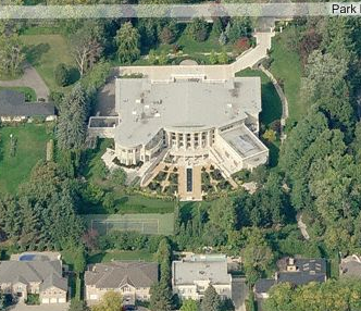 Mega Mansion In Question Homes Of The Rich