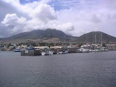 ST. KITTS 1. El puerto