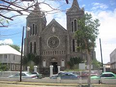 ST. KITTS 4. Una Iglesia anglicana