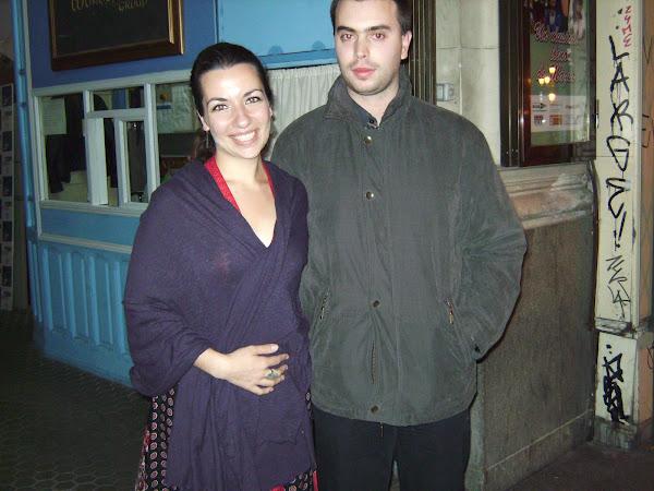 Javier y Ana Isabel Dias (de madredeus y la banda cósmica) en 2009