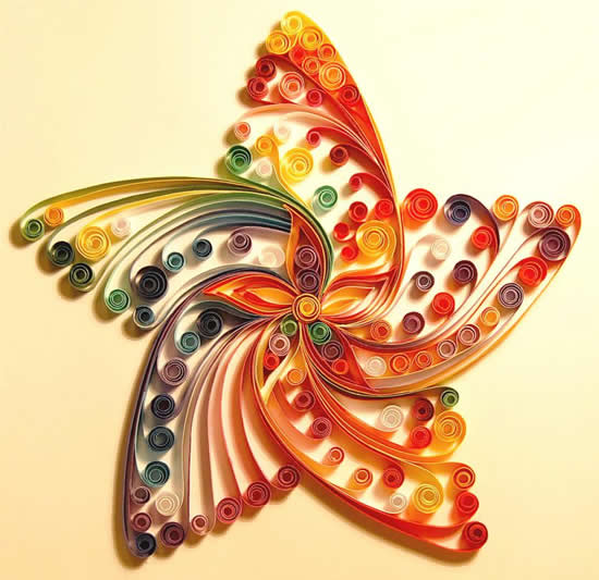 welcome to funnydust quilling the art of turning paper