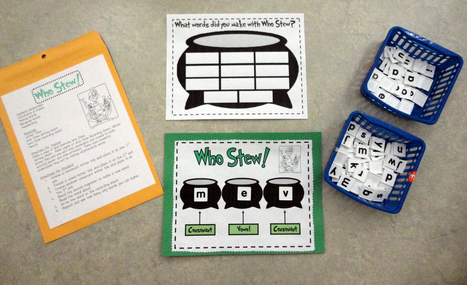 ... babblingabby.blogspot.com/2010/12/first-grade-grinch-activities.html