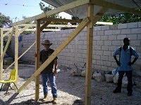 Steve working in Haiti