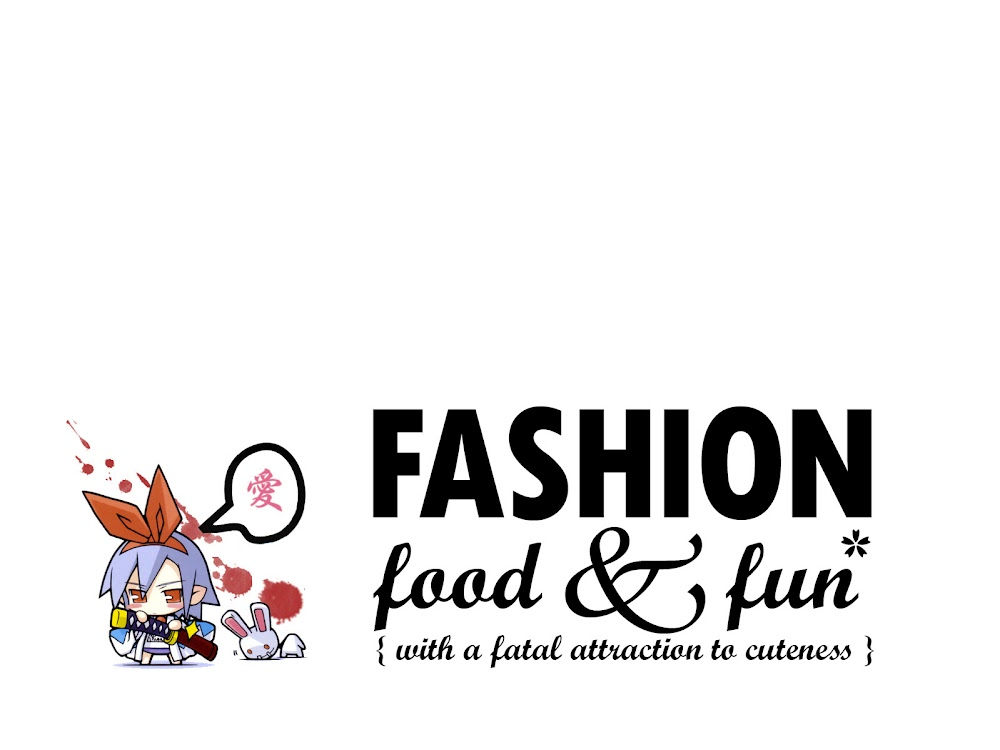 the eff words: fashion, food and fun