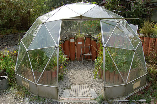 Build Your Own Bio-Dome for $100 & Green Harlow: Build Your Own Bio-Dome for $100