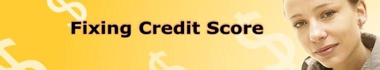 Fixing Credit Score
