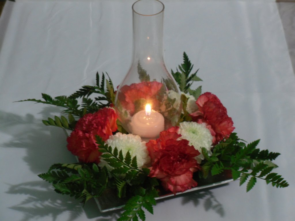 Debate necesito ayuda para centro de mesa con velas - Centros con velas ...