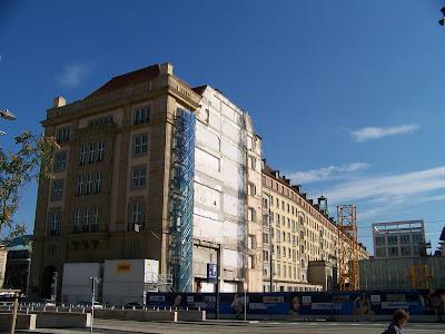 Baustelle Altmarkt Galerie Wilsdruffer Straße Dresden